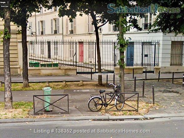 Quiet charming 1 BR, heart of Left Bank Montparnasse, on private cobblestone pedestrian street Home Rental in Paris, Île-de-France, France 1