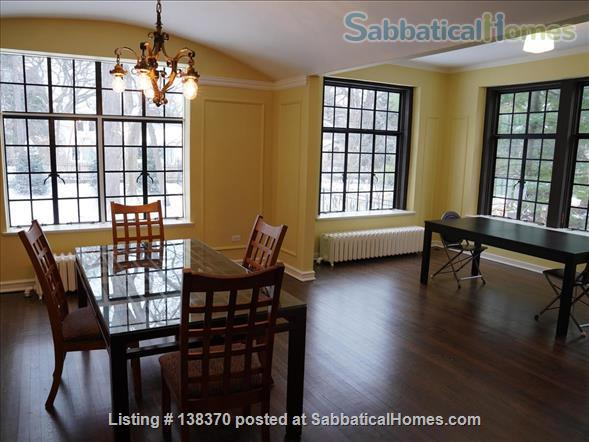 Historic, rehabbed and furnished 4bed/3½bath home near Northwestern Home Rental in Evanston, Illinois, United States 3