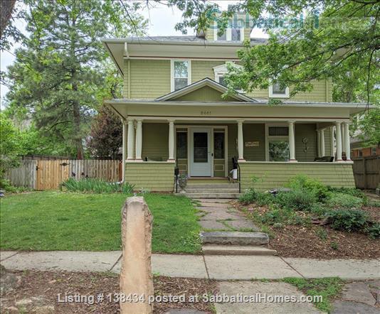 FURNISHED MAPLETON HILL RENTAL Home Rental in Boulder, Colorado, United States 1