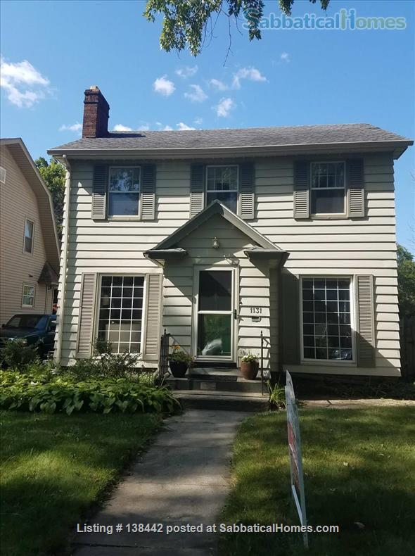 Charming Light Filled Home Near Campus Home Rental in South Bend, Indiana, United States 1