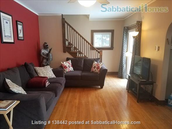 Charming Light Filled Home Near Campus Home Rental in South Bend, Indiana, United States 7