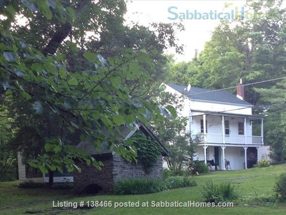 Charming 19th-Century Cottage on Stream Home Rental in Saugerties, New York, United States 1