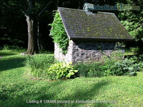 Charming 19th-Century Cottage on Stream Home Rental in Saugerties, New York, United States 6
