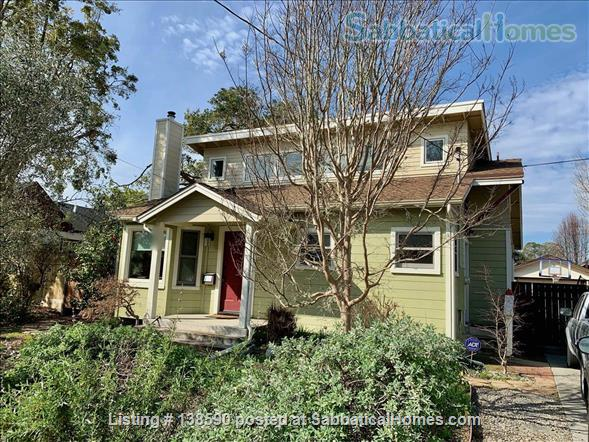 4 BR family home, near beach, UCSC, and downtown Santa Cruz Home Rental in Santa Cruz, California, United States 1