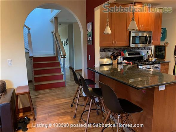 4 BR family home, near beach, UCSC, and downtown Santa Cruz Home Rental in Santa Cruz, California, United States 3