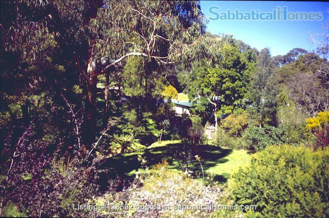Beautiful home on 6 acres of native gardens in the Dandenong Ranges 30 minutes from Monash Home Exchange in Upwey, VIC, Australia 1