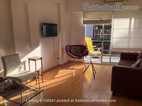 Luminous two bedroom apartment with  two bathrooms and two balconies Home Rental in Comuna 14, Buenos Aires, Argentina 1