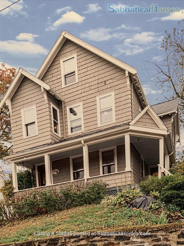 Gracious 3 Bedroom Home + Office, 10 minutes to Davis Square Home Rental in Somerville, Massachusetts, United States 1