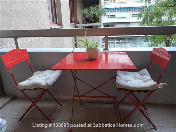 Outstanding location Tete d'Or - Vitton, 105 m2, fully equipped family apartment, terraces, shops, metro A Line, public and private schools Home Rental in Lyon, Auvergne-Rhône-Alpes, France 8