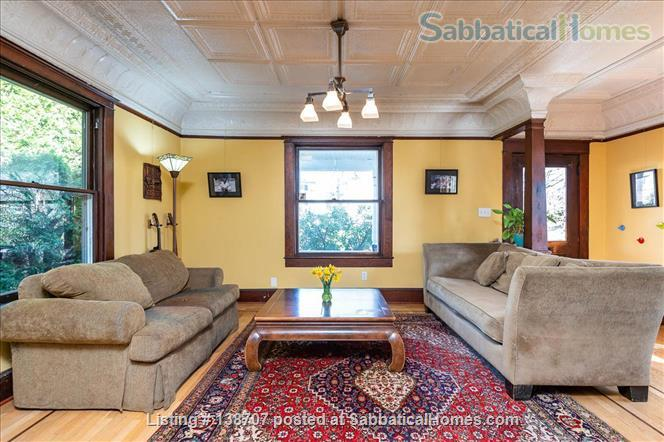 Furnished Portland Home in Vibrant Neighborhood Home Rental in Portland, Oregon, United States 1