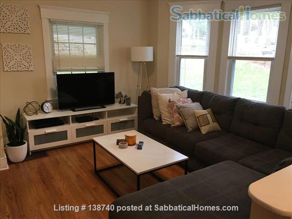 Fully-furnished 4 bedroom / 1.5 bedroom house with Utils and Wifi in North Haven, CT Home Rental in North Haven, Connecticut, United States 0