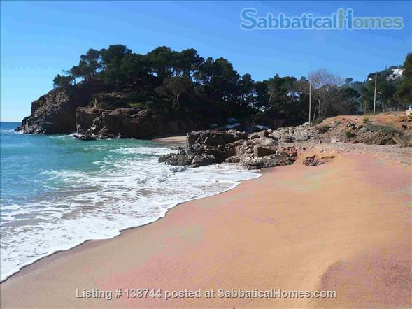 Designer's contemporary steel, glass and rock house on Costa Brava Home Rental in Canyet de Mar, CT, Spain 0