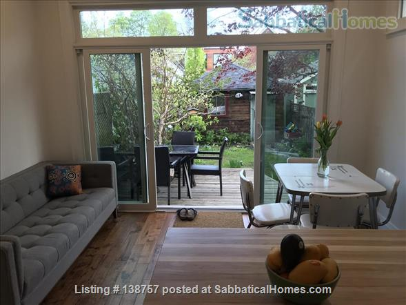 3 Bedroom Family-Friendly Victorian Home in Desirable Roncesvalles Village Home Rental in Toronto, Ontario, Canada 0