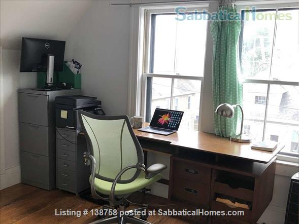 Furnished Room + Office in Davis Sq good for couples Home Rental in Somerville, Massachusetts, United States 0