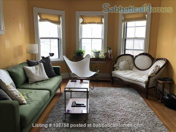 Furnished Room + Office in Davis Sq good for couples Home Rental in Somerville, Massachusetts, United States 2