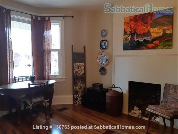 Attractive flat with garden, steps to subway Home Rental in Toronto, Ontario, Canada 0