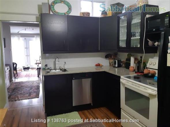 Attractive flat with garden, steps to subway Home Rental in Toronto, Ontario, Canada 5