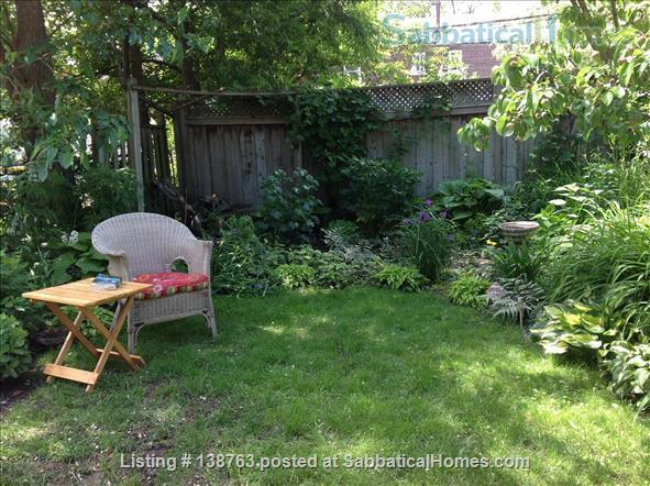 Attractive flat with garden, steps to subway Home Rental in Toronto, Ontario, Canada 7
