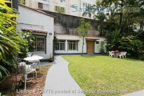 Studio in Gávea: very green and tranquility  Home Rental in Gávea, RJ, Brazil 0