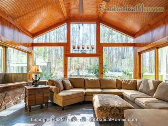 Elegant Rustic Retreat Home Rental in Pittsboro, North Carolina, United States 1