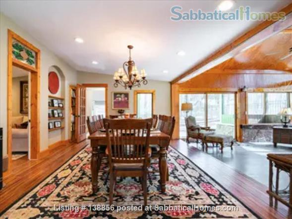 Elegant Rustic Retreat Home Rental in Pittsboro, North Carolina, United States 3