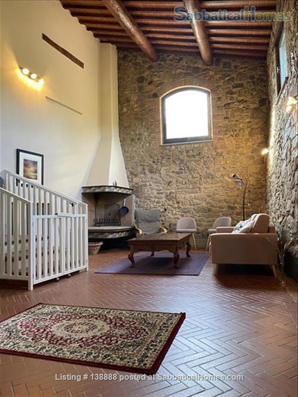 Farmhouse in Tuscany Home Rental in Ontignano 9