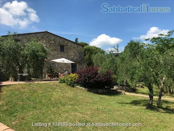 Farmhouse in Tuscany Home Rental in Ontignano 1