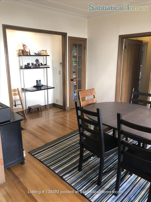 Furnished 2 bedroom/1bathroom condo 10 minute walk to campus Home Rental in Berkeley, California, United States 2