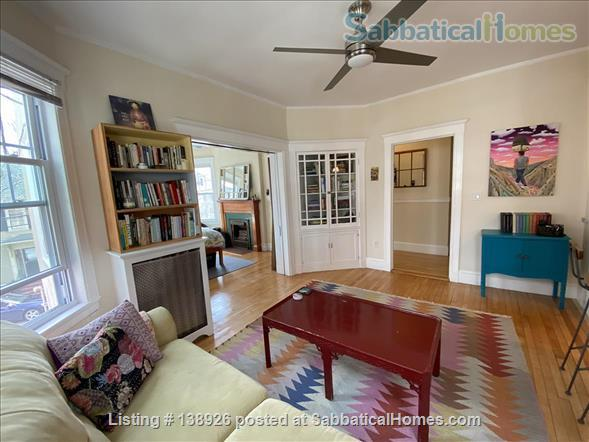 Light + Airy Home for Rent Near Harvard Home Rental in Cambridge, Massachusetts, United States 1