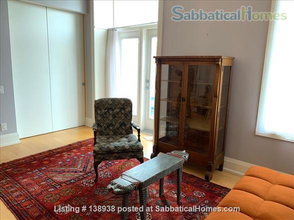1 Bedroom Studio Apartment in Central Chic Loft Building Home Rental in Toronto, Ontario, Canada 9