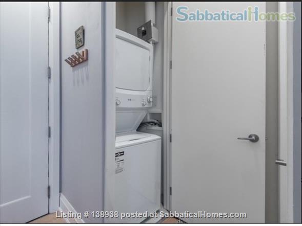 1 Bedroom Studio Apartment in Central Chic Loft Building Home Rental in Toronto, Ontario, Canada 4