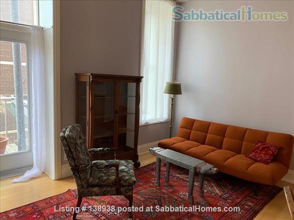 1 Bedroom Studio Apartment in Central Chic Loft Building Home Rental in Toronto, Ontario, Canada 6
