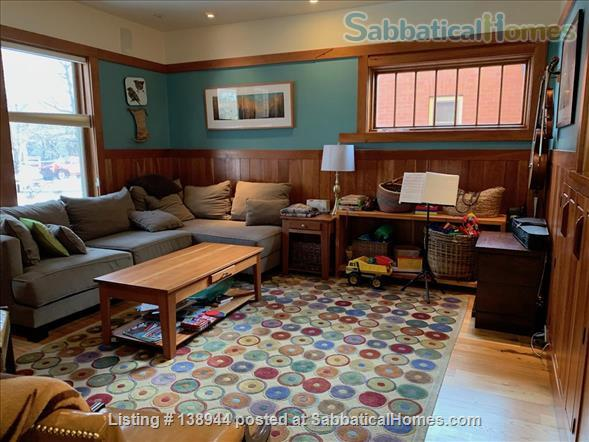 Beautiful, Historic Green and Green-style Family Home for Lease Home Rental in Missoula, Montana, United States 3