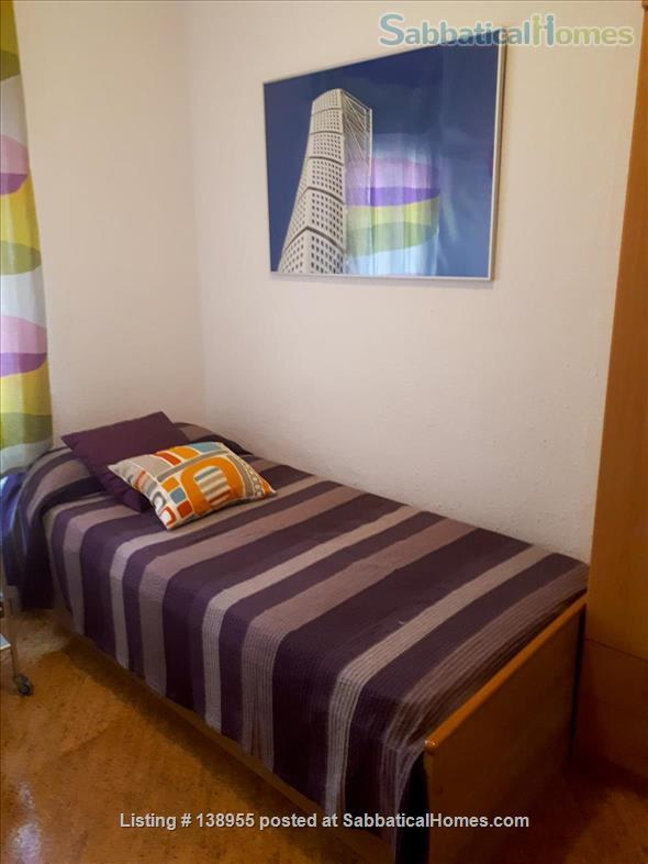 City center, where locals live. Left Eixample sunny apartment. Home Rental in Barcelona, CT, Spain 9