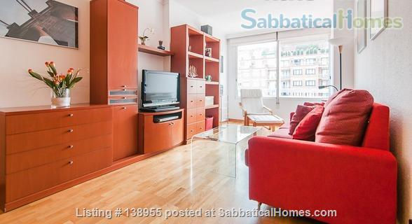 City center, where locals live. Left Eixample sunny apartment. Home Rental in Barcelona, CT, Spain 1