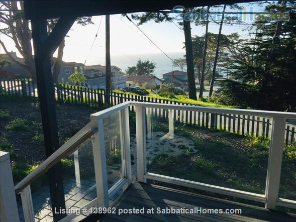 Ocean-view suite w/ porch, walk to beach & nature Home Rental in Montara, California, United States 1