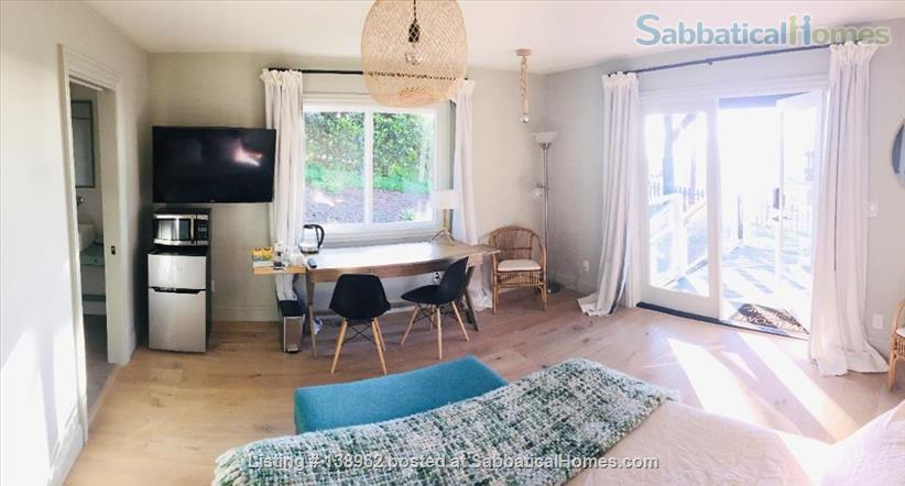 Ocean-view suite w/ porch, walk to beach & nature Home Rental in Montara, California, United States 2