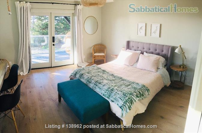 Ocean-view suite w/ porch, walk to beach & nature Home Rental in Montara, California, United States 6