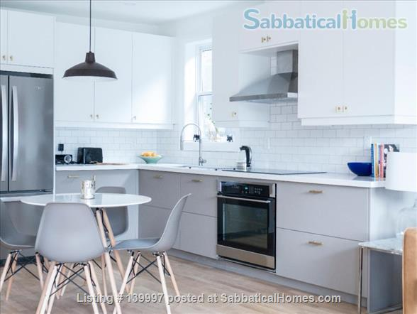 Bright and Modern 2 Bed near Danforth and Broadview, Jackman School Home Rental in Toronto, Ontario, Canada 1