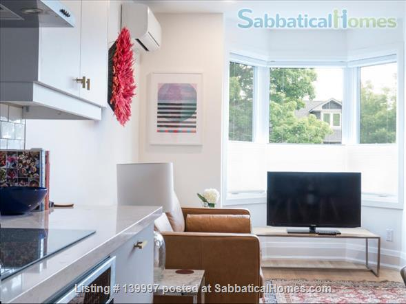 Bright and Modern 2 Bed near Danforth and Broadview, Jackman School Home Rental in Toronto, Ontario, Canada 0