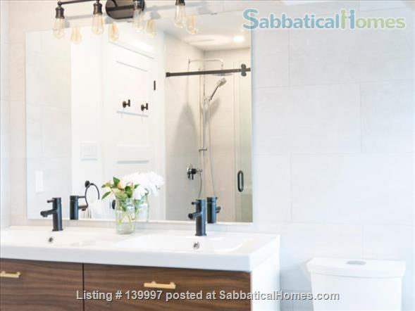 Bright and Modern 2 Bed near Danforth and Broadview, Jackman School Home Rental in Toronto, Ontario, Canada 4