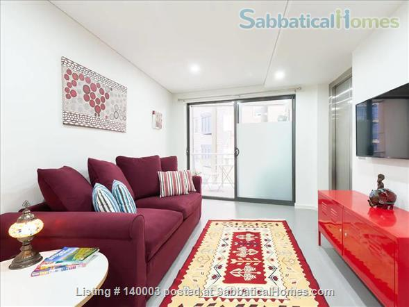 Centrally-located new beautiful modern one bedroom apartment  Home Rental in Pyrmont, NSW, Australia 1