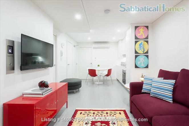 Centrally-located new beautiful modern one bedroom apartment  Home Rental in Pyrmont, NSW, Australia 2
