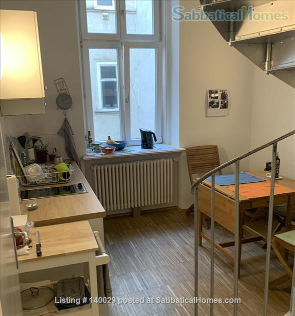 Perfectly situated 2 room apartment  in the 7th district with kitchen, bathroom and WC  Home Rental in Vienna, Wien, Austria 6