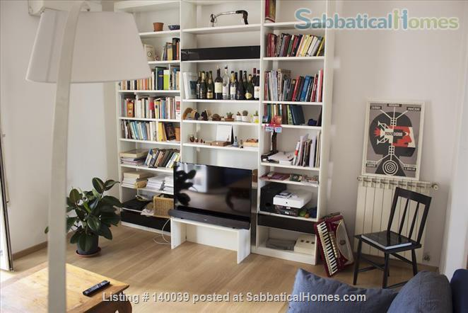 Diana: Cozy 2 bedrooms apartment perfectly located Home Exchange in Rome, Lazio, Italy 0