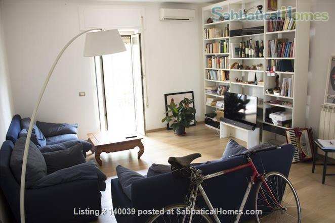 Diana: Cozy 2 bedrooms apartment perfectly located Home Exchange in Rome, Lazio, Italy 3