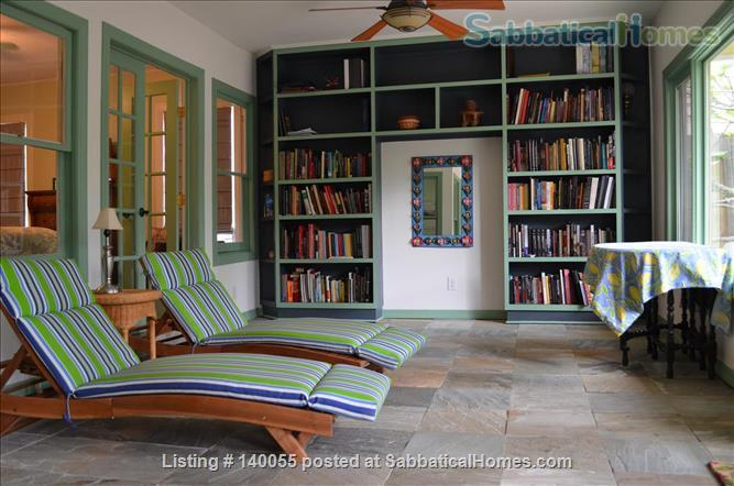 Airy home with verdant yard and screen porches Home Rental in San Antonio, Texas, United States 6