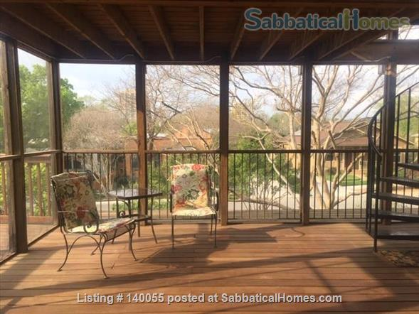 Airy home with verdant yard and screen porches Home Rental in San Antonio, Texas, United States 7