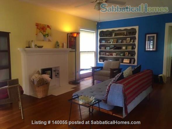 Airy home with verdant yard and screen porches Home Rental in San Antonio, Texas, United States 2