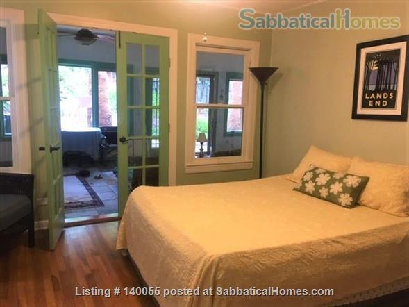 Airy home with verdant yard and screen porches Home Rental in San Antonio, Texas, United States 4
